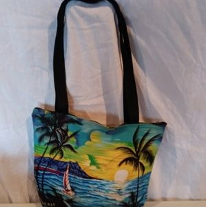 Jamaica tote bag with matching pouch